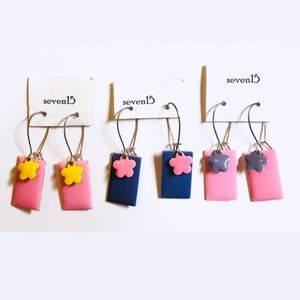 ☼4 for 20$☼ Block Colour Earrings